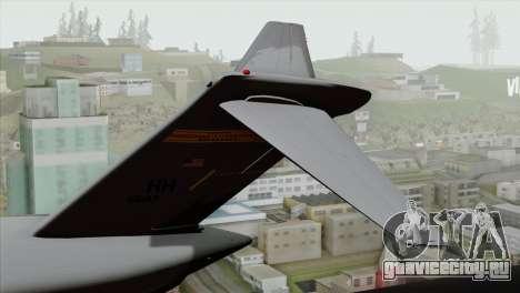 C-17A Globemaster III USAF Hickam для GTA San Andreas вид сзади слева