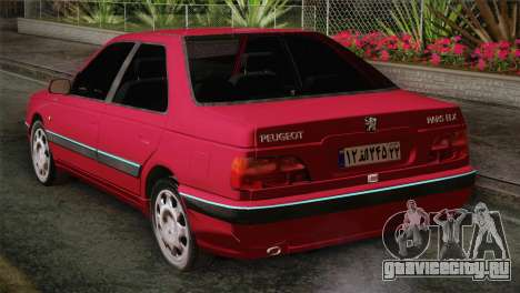 Peugeot Pars для GTA San Andreas