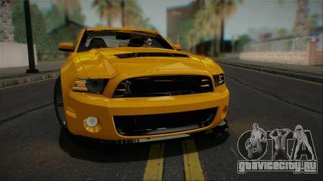 Ford Shelby GT500 2013 Vossen version для GTA San Andreas
