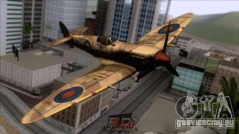 Stanislaw Skalski Supermarine Spitfire MK IXC для GTA San Andreas