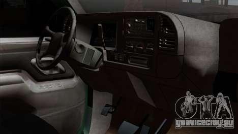 Chevrolet Suburban GMT400 1998 для GTA San Andreas вид справа
