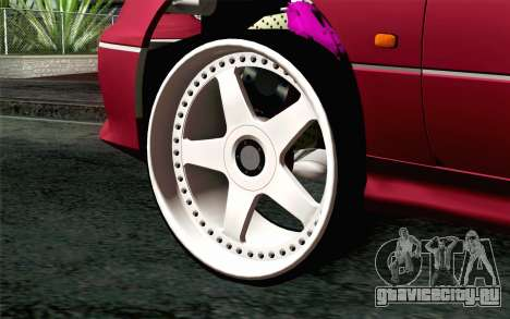 Toyota Aristo для GTA San Andreas вид сзади слева