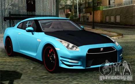 Nissan GT-R35 v1 для GTA San Andreas