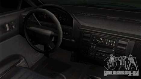 GTA 5 Vapid Stanier II IVF для GTA San Andreas вид справа