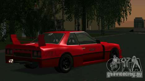 Nissan Skyline RS Turbo F-SPL (R30) для GTA San Andreas вид справа