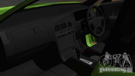 Toyota Mark II Tourer_V для GTA San Andreas вид изнутри