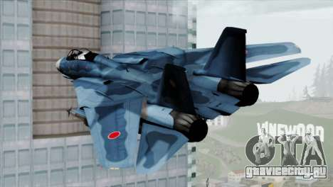 F-14 Japan Air Self Defense Force для GTA San Andreas вид слева