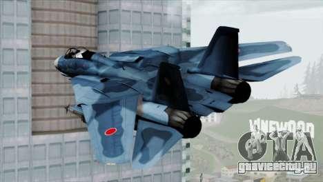 F-14 Japan Air Self Defense Force для GTA San Andreas вид слева