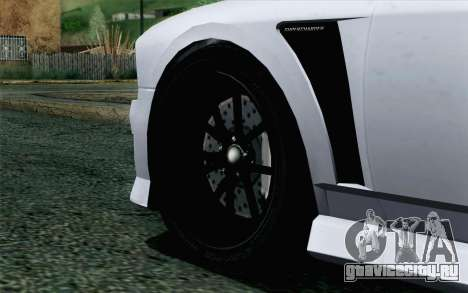 GTA 5 Bravado Buffalo S v2 для GTA San Andreas вид сзади слева