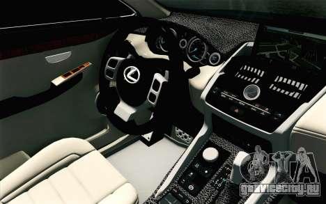 Lexus NX 200T v4 для GTA San Andreas вид справа