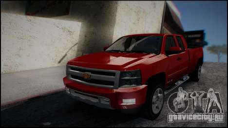 Chevrolet Silverado 1500 HD Stock для GTA San Andreas вид слева