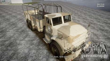 GTA 5 Barracks v2 для GTA 4 колёса