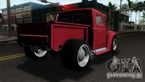 GTA 5 Bravado Rat-Truck IVF для GTA San Andreas вид слева