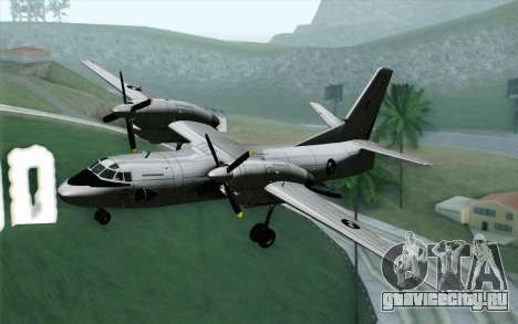 AN-32B Croatian Air Force Opened для GTA San Andreas