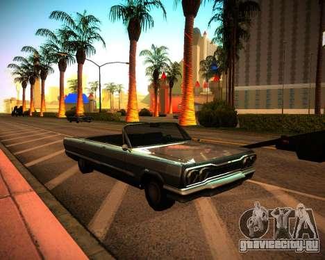 ENB GreenSeries для GTA San Andreas второй скриншот