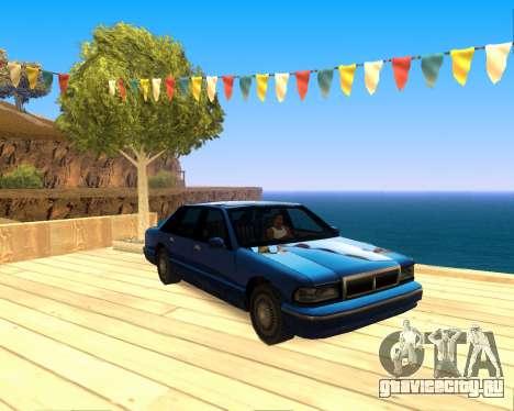 ENB for SAMP by MAKET для GTA San Andreas третий скриншот