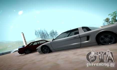 Formal ENB by HA v2.00 для GTA San Andreas четвёртый скриншот