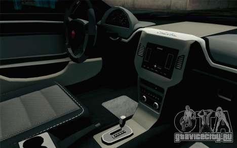 GTA 5 Cheval Fugitive HQLM для GTA San Andreas вид справа