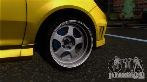 Opel Corsa OPC для GTA San Andreas вид сзади слева