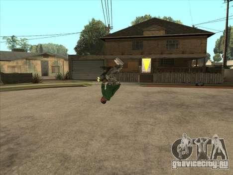 Паркур мод v2.0.4 для GTA San Andreas третий скриншот