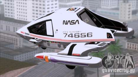 Shuttle v2 Mod 1 для GTA San Andreas вид слева