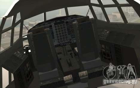 Lockheed C-130 Hercules Indonesian Air Force для GTA San Andreas вид сзади
