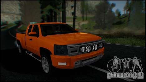 Chevrolet Silverado 1500 HD Stock для GTA San Andreas салон