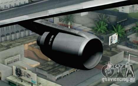 Lookheed L-1011 Cathay P для GTA San Andreas вид справа