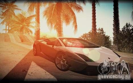 ENB for SA:MP v5 для GTA San Andreas третий скриншот
