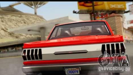 GTA 5 Vapid Blade v2 для GTA San Andreas вид справа