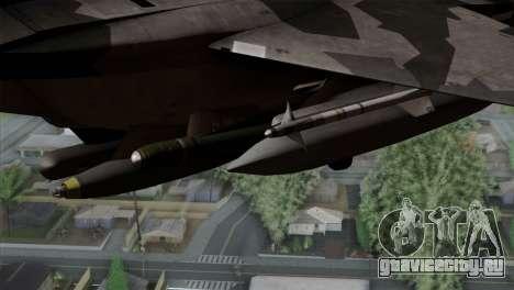 F-15E Yellow Squadron для GTA San Andreas