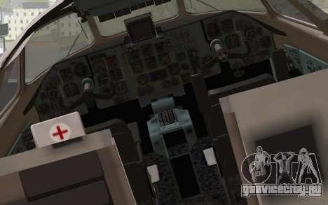 AN-32B Croatian Air Force Opened для GTA San Andreas вид сзади