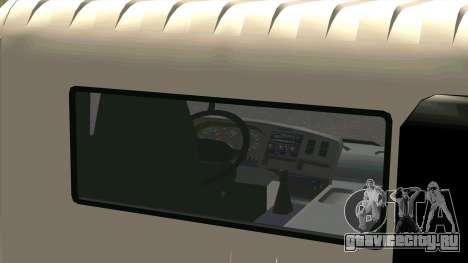 Mitsubishi Fuso Super Great FP-R для GTA San Andreas вид сзади