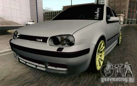 Volkswagen Golf Mk4 2002 Street Daily для GTA San Andreas