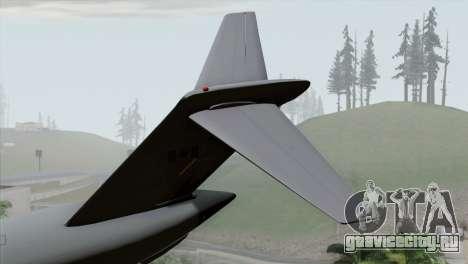 C-17A Globemaster III RCAF для GTA San Andreas вид сзади слева