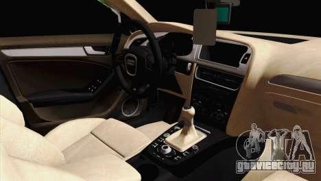 Audi S4 Sedan 2010 для GTA San Andreas вид справа