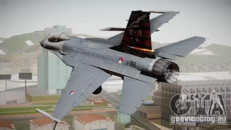 F-16 Fighting Falcon 50th Anniv. of Squadron 313 для GTA San Andreas