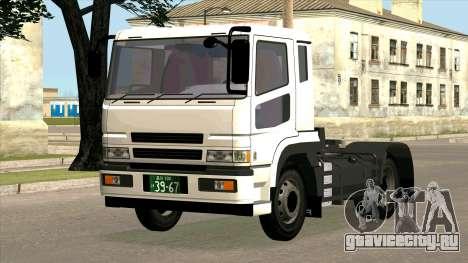 Mitsubishi Fuso Super Great FP-R для GTA San Andreas