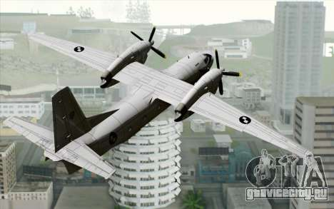 AN-32B Croatian Air Force Closed для GTA San Andreas вид слева