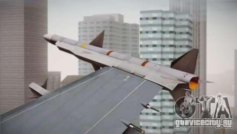 F-16 Fighting Falcon RNLAF для GTA San Andreas вид справа