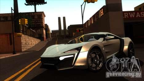 ENBSeries для слабых PC v5 для GTA San Andreas третий скриншот