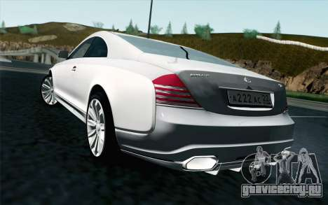 Maybach 57S Coupe Xenatec для GTA San Andreas вид слева
