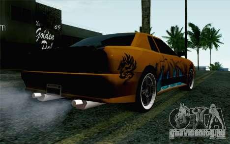 Nights Elegy для GTA San Andreas вид слева