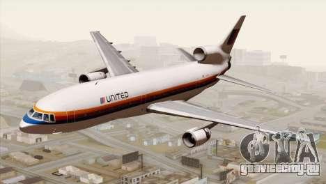 Lookheed L-1011 United Als для GTA San Andreas