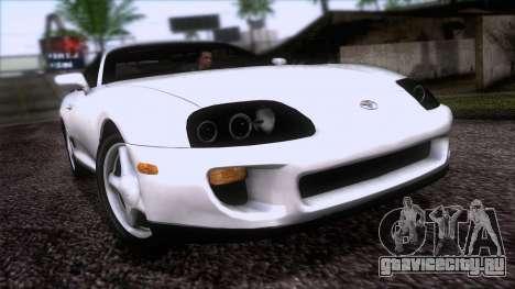 Toyota Supra US-Spec (JZA80) 1993 HQLM для GTA San Andreas
