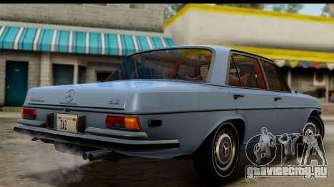 Mercedes-Benz 300 SEL 6.3 (W109) 1967 HQLM для GTA San Andreas вид слева