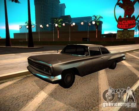 ENB GreenSeries для GTA San Andreas четвёртый скриншот