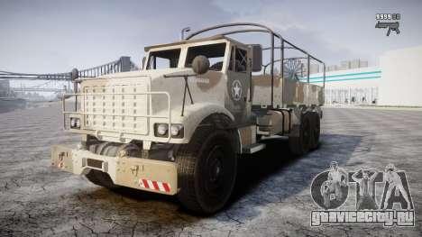 GTA 5 Barracks v2 для GTA 4 вид сверху