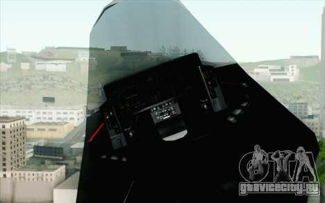 Sukhoi PAK-FA China Air Force для GTA San Andreas вид справа