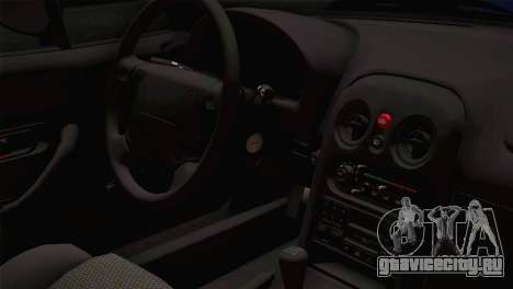 Mazda Miata Cabrio v2 для GTA San Andreas вид сзади